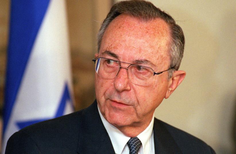 Moshe Arens (photo credit: Wikimedia Commons)