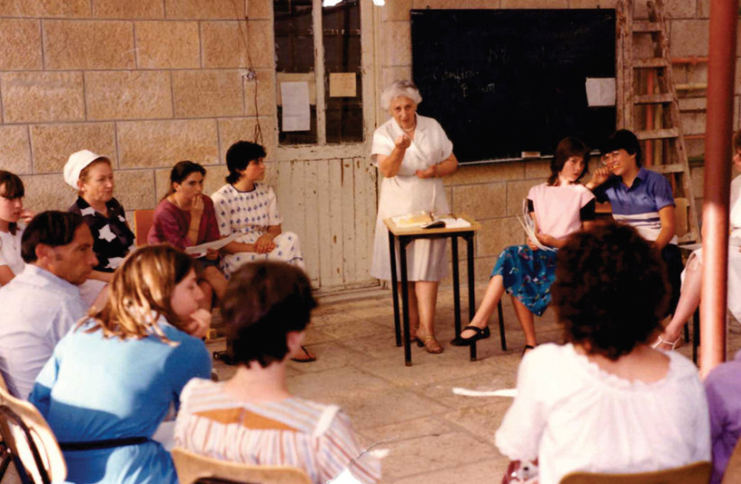Ensuring Jewish women get a decent religious education at the Pelech High School. (photo credit: Courtesy)