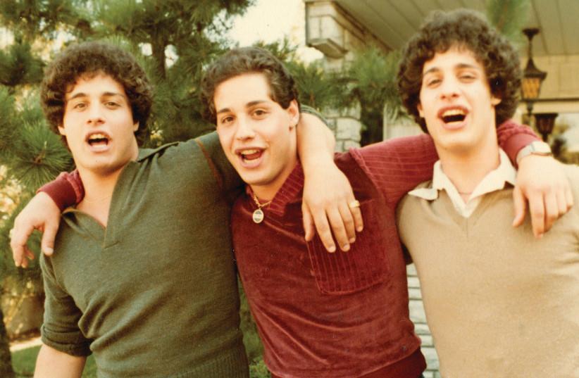 EDDY, DAVID and Bobby in 'Three Identical Strangers.' (photo credit: NEW CINEMA)