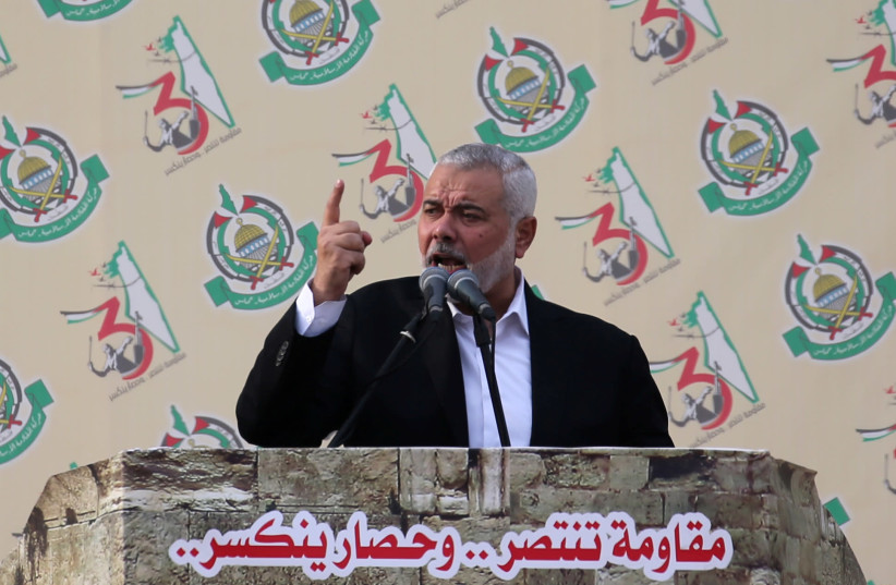 IDF strikes Hamas targets as Haniyeh demands end to blockade