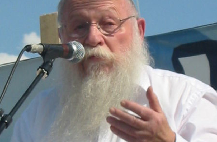 Rabbi Haim Druckman (photo credit: WIKIPEDIA)