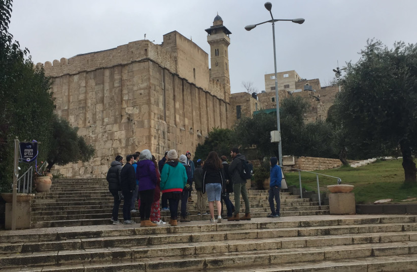 Cave of the Patriarchs in Hebron  (photo credit: Courtesy)