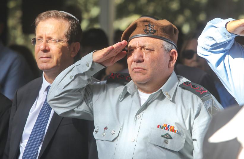 LT.-GEN. GADI EISENKOT – a warrior and a statesman (photo credit: MARC ISRAEL SELLEM/THE JERUSALEM POST)