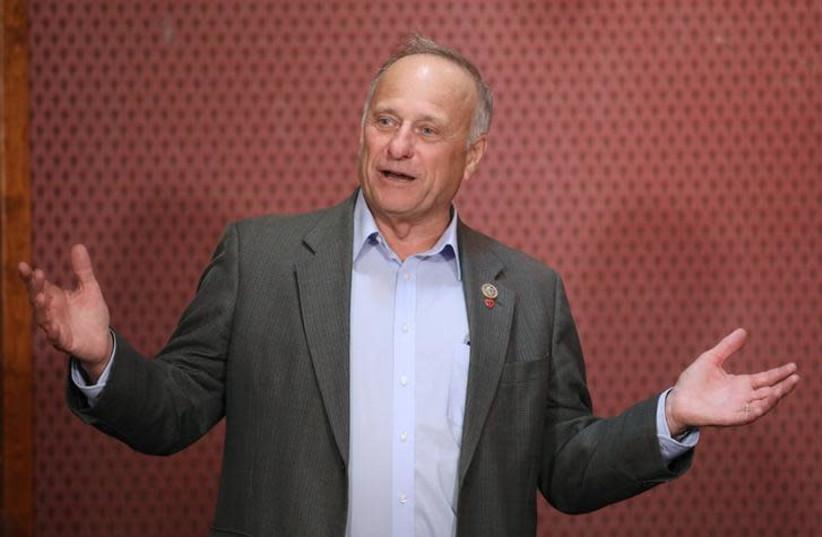 Republican Rep. Steve King (photo credit: REUTERS/SCOTT MORGAN)