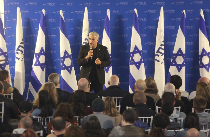 Yesh Atid leader Yair Lapid (photo credit: MARC ISRAEL SELLEM)