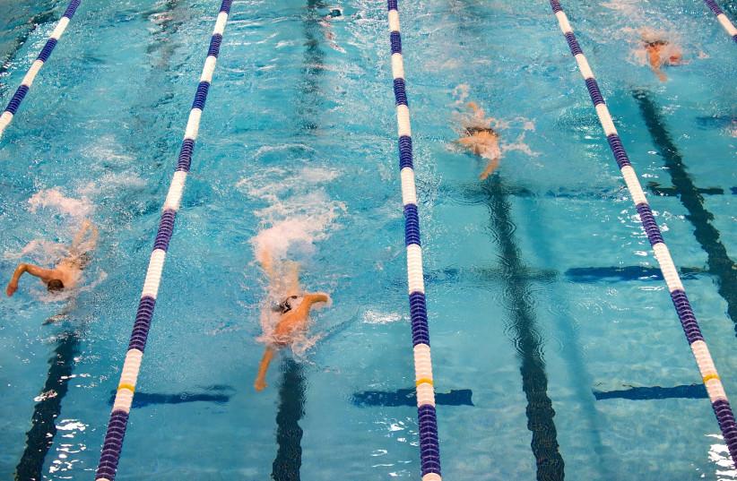 Swimming race [Illustrative] (photo credit: PIXABAY)