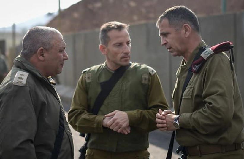 Aviv Kochavi (L) and Gadi Eisenkot (R) (photo credit: IDF)
