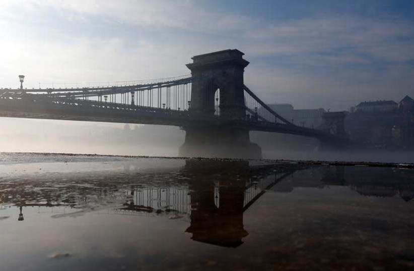 The Danube river in Budapest, Hungary (photo credit: REUTERS/LASZLO BALOGH)