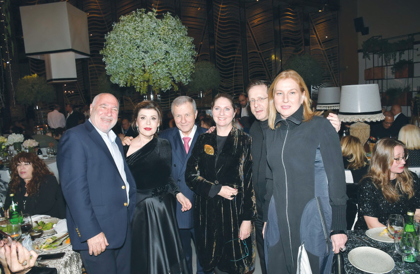 FROM LEFT, Naftali Spitzer, Ruth and Meir Sheetrit, Michal and Isaac Herzog, and Tzipi Livni (photo credit: AVIV CHOFI)