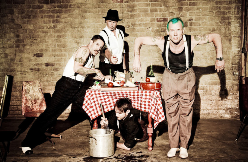 Red Hot Chili Peppers (photo credit: Wikimedia Commons)