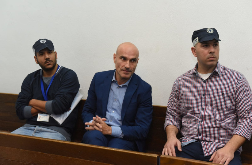 Efi Nave in court (photo credit: REUVEN CASTRO)