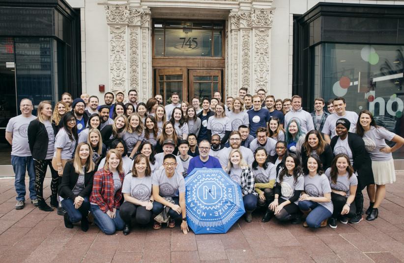 Staff of Boston-based start-up Notarize (photo credit: Courtesy)
