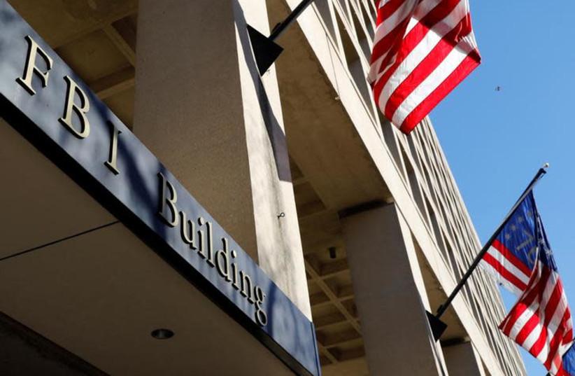 FBI headquarters building is seen in Washington, U.S., December 7, 2018 (photo credit: YURI GRIPAS/REUTERS)