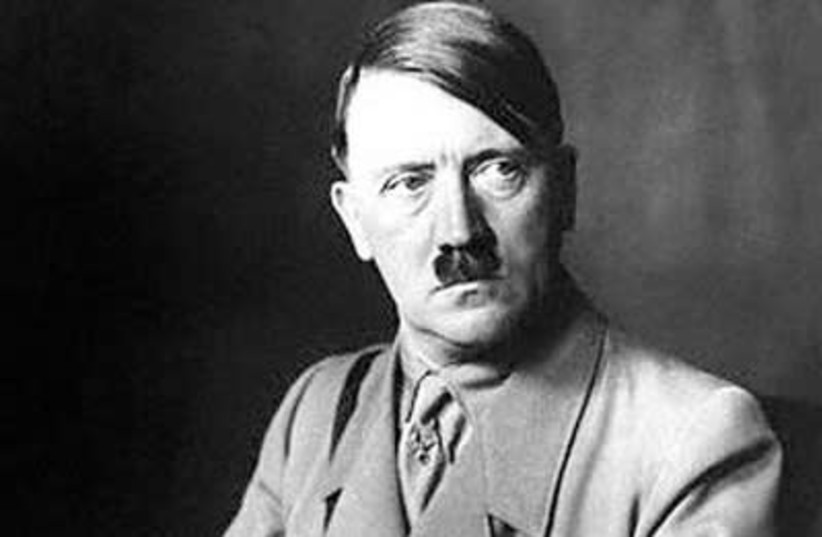 Adolf Hitler (photo credit: MIHAILO1997/WIKIMEDIA COMMONS)