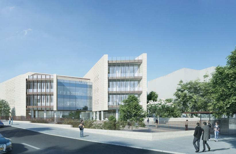 An illustrative photo of the new headquarters of The International Fellowship of Christians and Jews in Jerusalem. (photo credit: SUPPLIED/THE FELLOWSHIP)