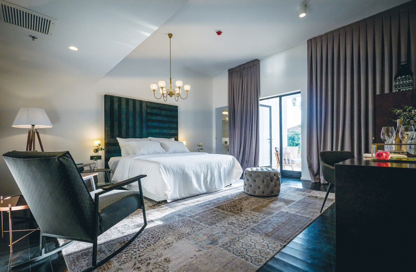 The Lear Sense Hotel in Gedera was created as a labor of love and feels more like a home than a hotel (photo credit: Courtesy)