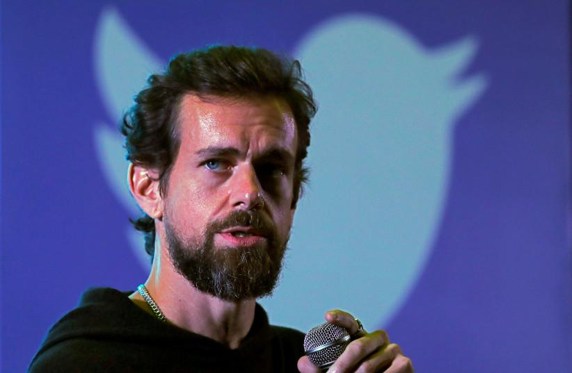 Twitter CEO Jack Dorsey (photo credit: REUTERS/ANUSHREE FADNAVIS)