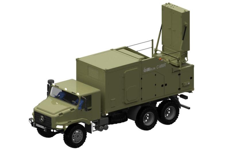 Compact Multi Mission Radar. (photo credit: IAI)