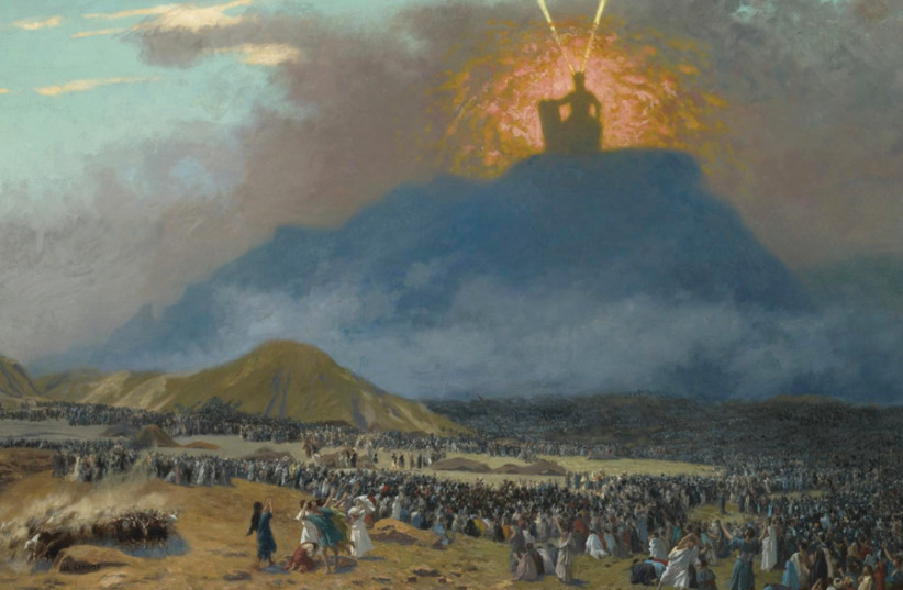 MOSES ON Mount Sinai as depicted by Jean-Léon Gérôme, 1895. (photo credit: Wikimedia Commons)