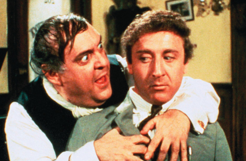 ZERO MOSTEL and Gene Wilder in 'The Producers' (photo credit: FILM SOCIETY OF LINCOLN CENTER)