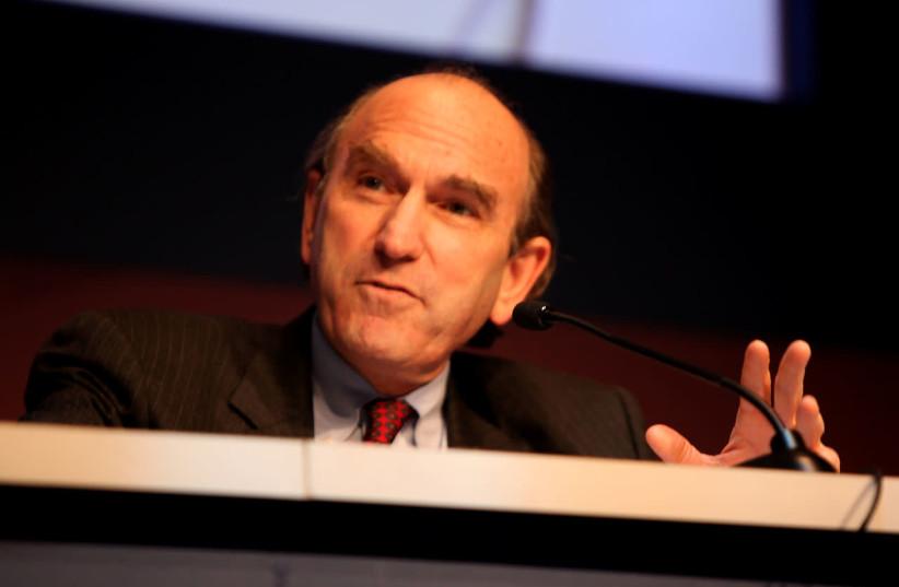 Elliott Abrams speaking at CPAC in Washington D.C. on February 10, 2012. (photo credit: GAGE SKIDMORE)