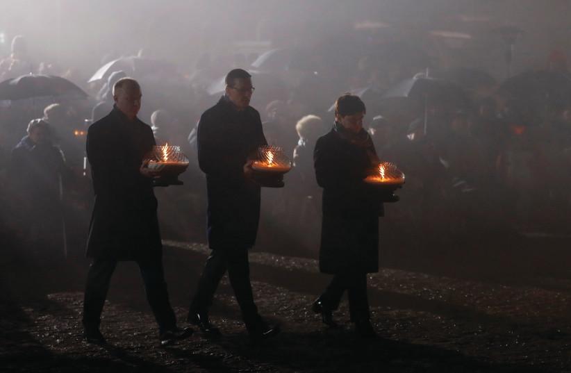 REMEMBERING AUSCHWITZ-BIRKENAU and the Shoah. (photo credit: REUTERS)