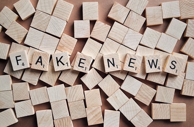 Fake news [Illustrative] (photo credit: PIXABAY)