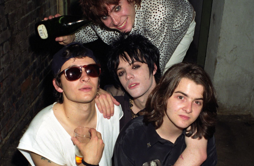 The Manic Street Preachers in the early 1990s with Richey Edwards (middle center) (photo credit: Wikimedia Commons)
