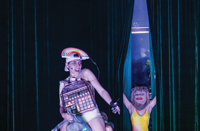 A SCENE from a 'A Midsummer Night's Dream in Space.' (photo credit: DAVID KAPLAN)