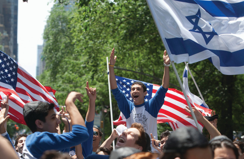 'WHAT ARE the effects, in Israel, in the US, and the rest of the world, of the perceived opinions of American Jewry?' (photo credit: REUTERS)