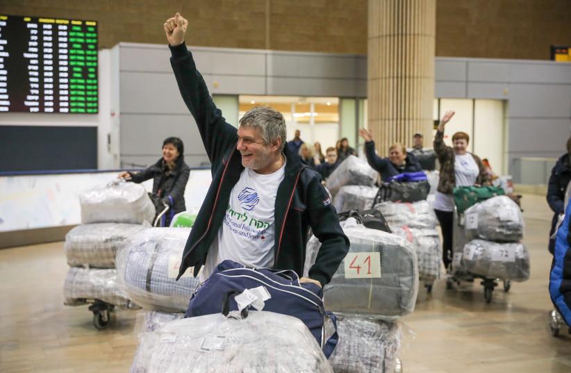 Ukrainian-Jews reach Israel (photo credit: IFCJ)
