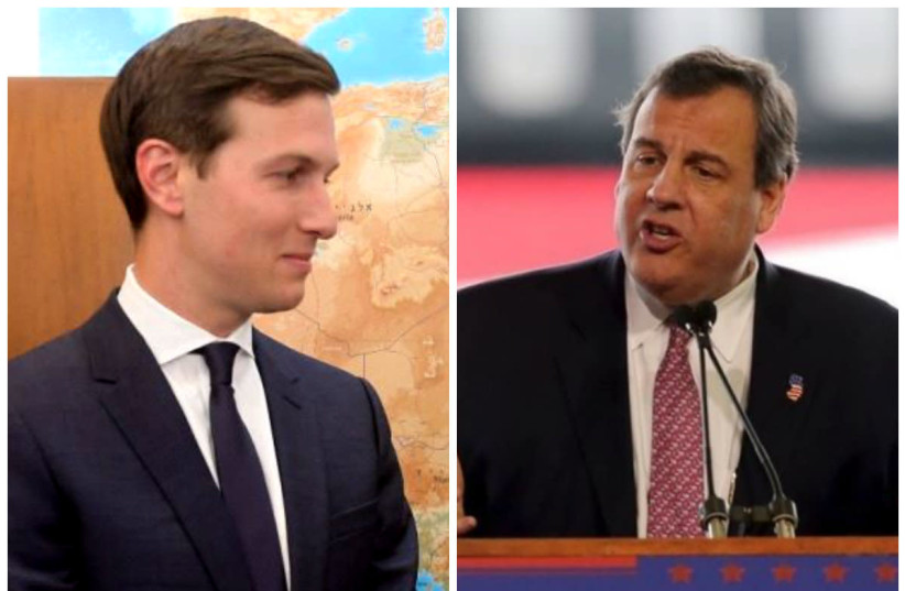 Collage of Jared Kushner and Chris Christie. (photo credit: REUTERS)