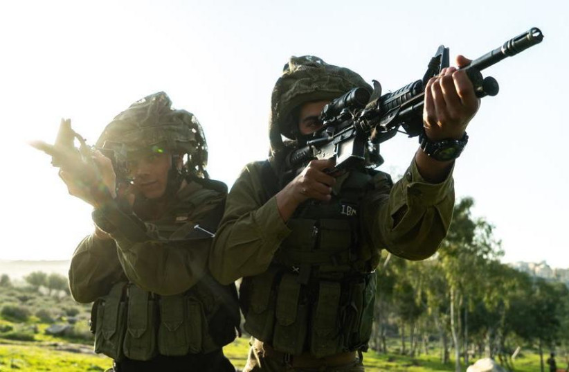 IDF war games in the north simulating a conflict with Hezbollah (photo credit: IDF SPOKESMAN'S UNIT)