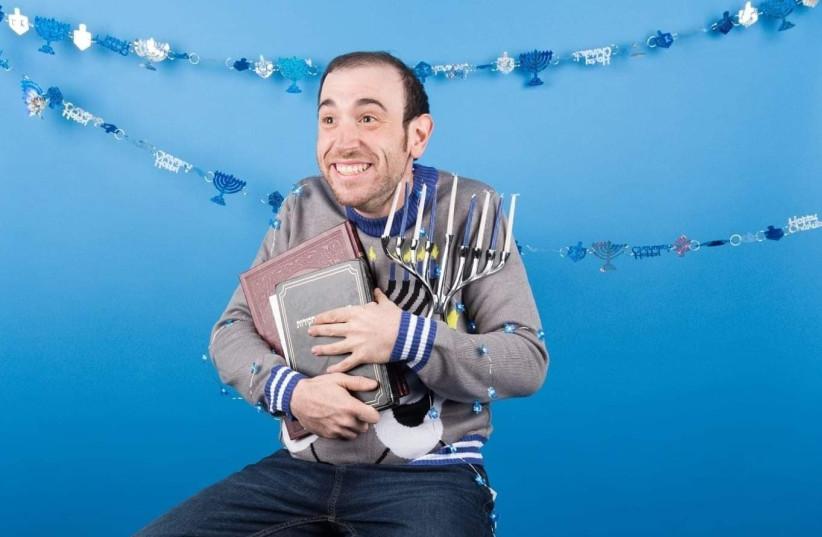 Eitan Levine, a rising Jewish comedian.  (photo credit: JENNI WALKOWIAK)