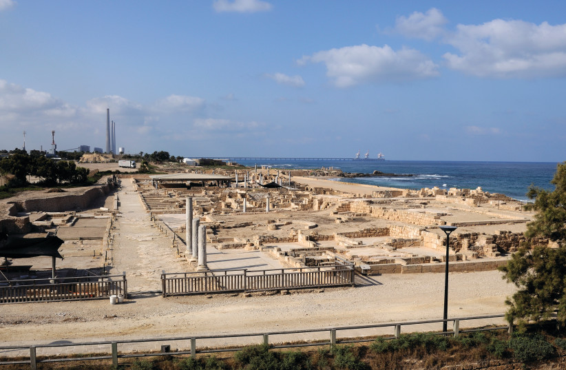 WILL THE Caesarea National Park be approved as a World Heritage Site by UNESCO?  (photo credit: Wikimedia Commons)