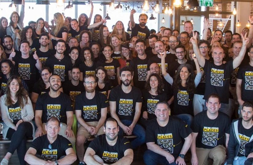 Employees at Sisense (photo credit: SHIR NEWMAN)