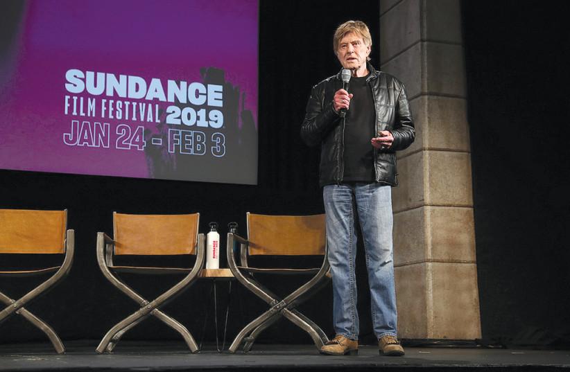 Robert Redford at Sundance  (photo credit: Courtesy)