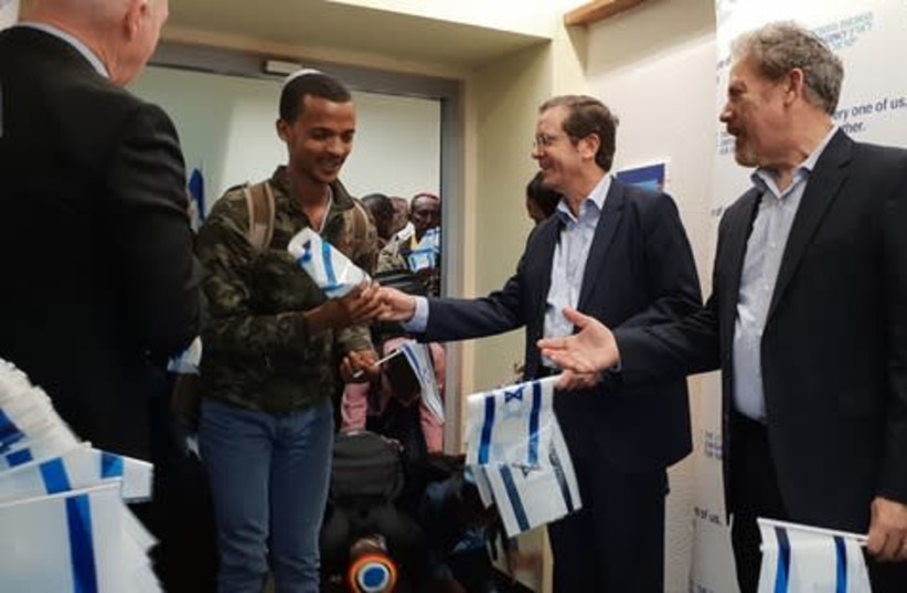 JAFI Ethiopia flight 1 (photo credit: THE JEWISH AGENCY FOR ISRAEL)