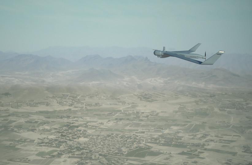 The Orbiter 1K drone. (photo credit: AERONAUTICS)