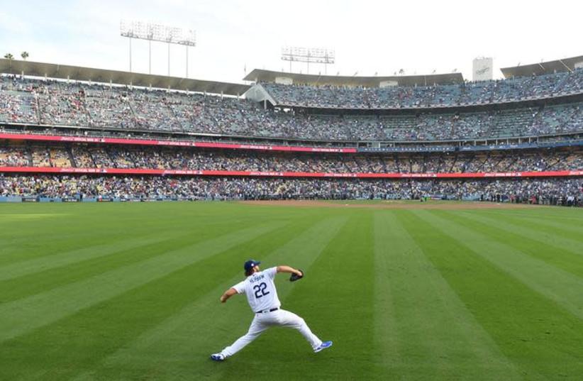 Dodger Stadium (photo credit: REUTERS)