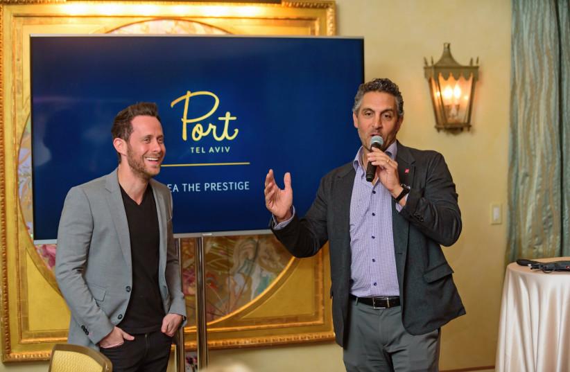Mauricio Umansky and David Parnes (photo credit: THE AGENCY)