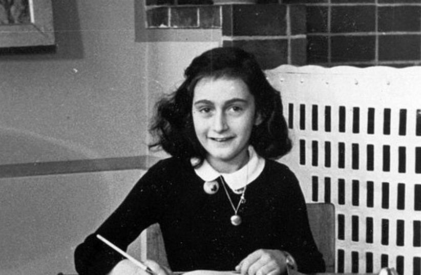Anne Frank in 1940 (photo credit: Wikimedia Commons)