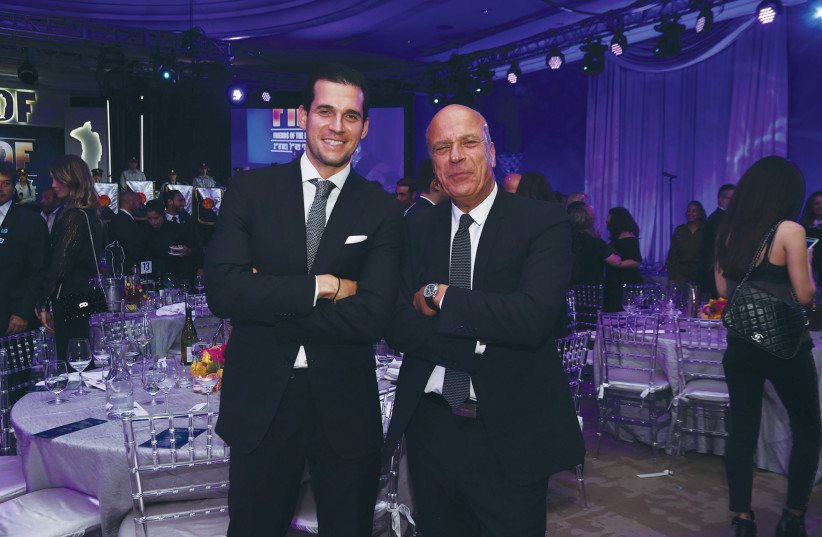 OREN ALEXANDER (left) and Benny Shabtai.  (photo credit: WORLD RED EYE)