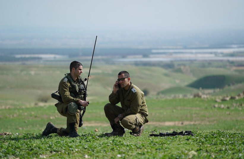 Soldiers from the IDF's 401st Armored Brigade (photo credit: IDF SPOKESPERSON'S UNIT)