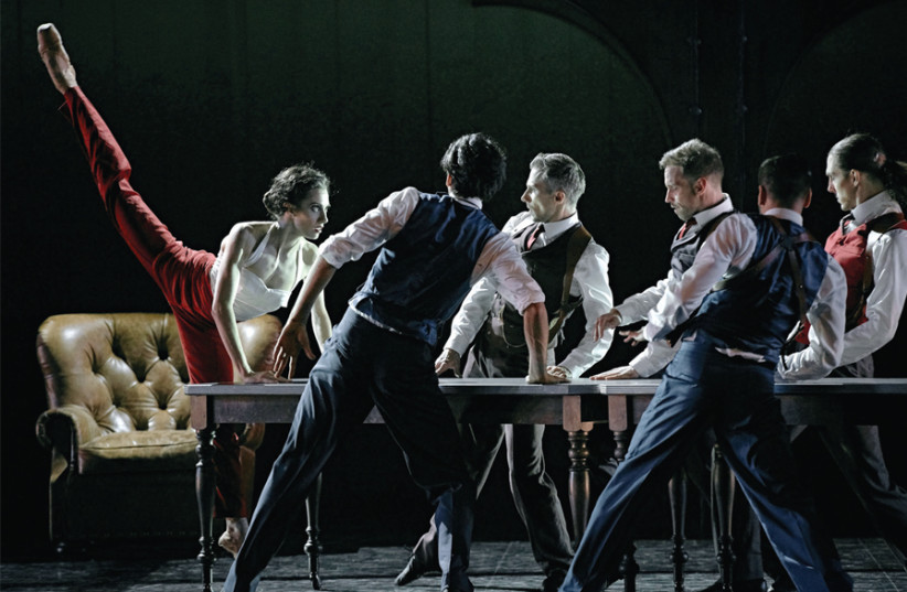 Les Grands Ballets Canadiens de Montreal (photo credit: SASHA ONYSCHENKO)