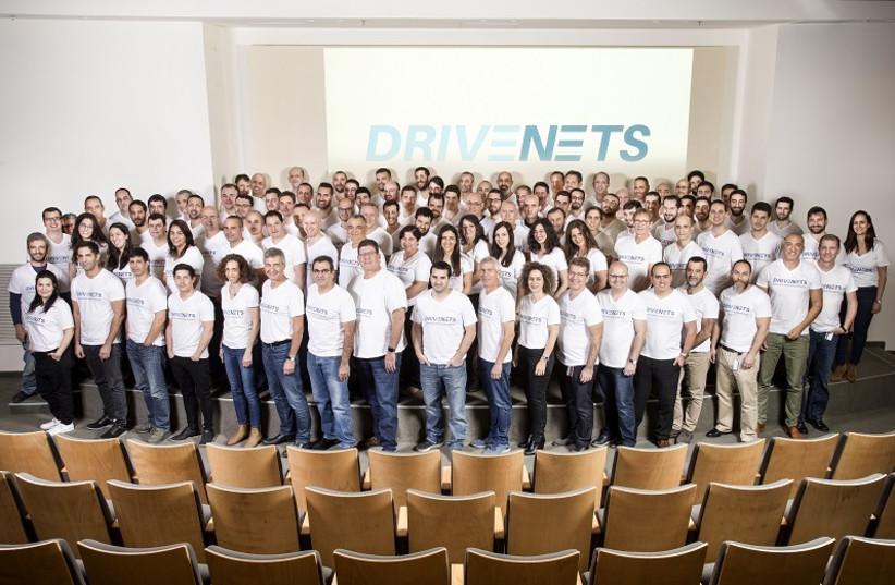 Employees of Ra'anana-based start-up DriveNets (photo credit: DRIVENETS)