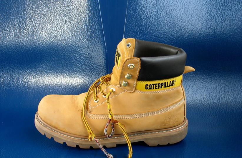 Caterpillar boots [Illustration] (photo credit: OSVALDO GAGO/WIKIMEDIA COMMONS)
