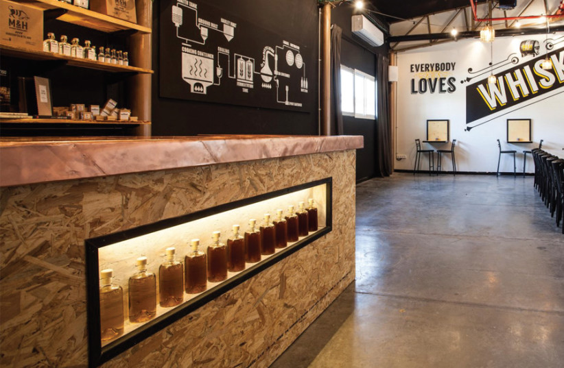 The tasting room at Milk and Honey (photo credit: Courtesy)