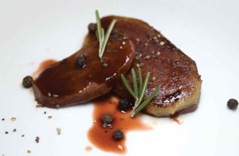 A Jet-Eat printed steak (photo credit: Courtesy)