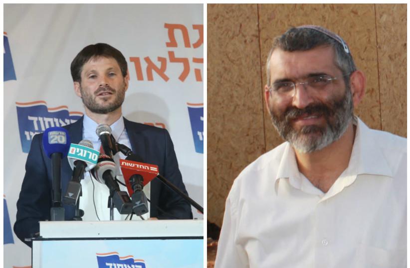 Betzalel Smotrich (L) and Michael Ben-Ari (R) (photo credit: WIKIMEDIA COMMONS & MARC ISRAEL SELLEM/THE JERUSALEM POST)